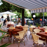 Hotel-Neda-Rimini-Esterno-Tavoli